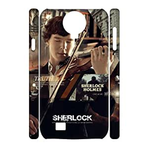 zZzZzZ Sherlock Shell Phone For Samsung Galaxy S4 i9500 Cell Phone Case