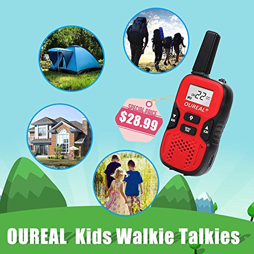 60%OFF OUREAL Kids Walkie Talkies Toys Long Distance 22