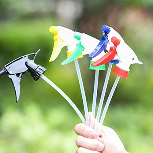 BONYTAIN 1pc Plastic Spray Bottle Sprayer Hand Button Watering Nozzle Gardening Plant Watering and Humidifying