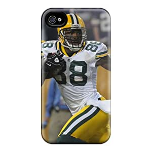 Flexible Tpu Back Case Cover For Iphone 4/4s - Green Bay Packers