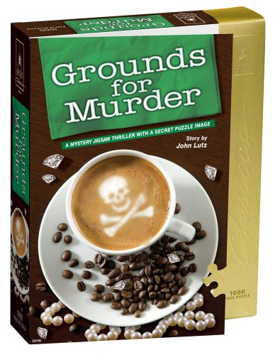 (Classic Mystery Jigsaw Puzzle - Grounds for Murder)