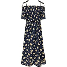 064899abee79 Big Girls Floral Printed Smocking and Ruffle Detailed Jumpsuits (Many  Options)