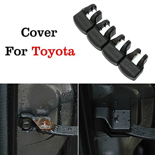 JessicaAlba 4x Car Door Check Arm Protection Cover For Toyota Corolla Prius RAV4 Camry Venza FJ Cruiser Sequoia (Cargo Cover For Toyota Venza compare prices)