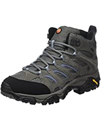 Womens Moab Mid GORE-TEX Waterproof Walking Boots - SS17-8 - Grey