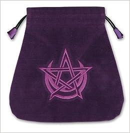 Pagan Moon Velvet Tarot Bag by Lo Scarabeo May 08,2011 ...