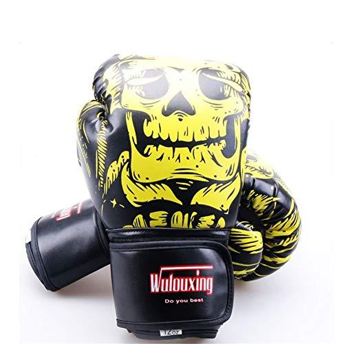 TTXST Boxing Gloves 12Oz Fashion Adult Fighting Sanda Taekwondo Gloves Muay Thai Fighting Gloves Training Boxing Gloves,D