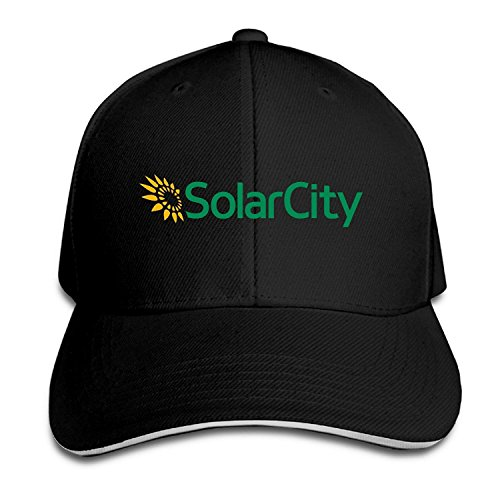 YesYouGO Solar City Logo Adjustable Snapback Caps Baseball Peaked Hat