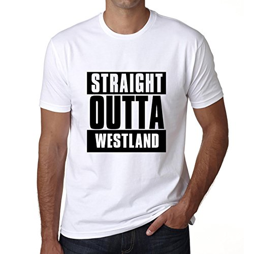 Price comparison product image Straight Outta Westland,  mens tshirts,  city tshirts for men