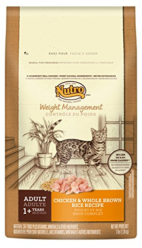 - Natural Choice Weight Management Adult Cat Chicken And Whole Brown Rice Formula - 3 Lbs. (1.36 Kg)