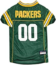 NFL Green Bay Packers Dog Jersey, Small