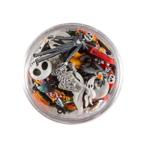 Jesse James Company Dress it Up Embellishments Buttons Halloween Multi