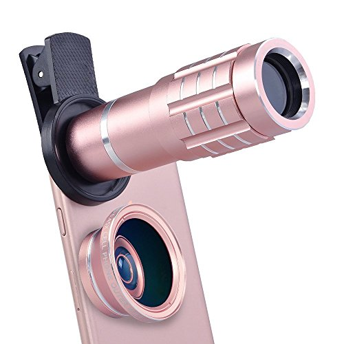Shopping_Shop2000 HD Universal Clip-On Camera Lens...