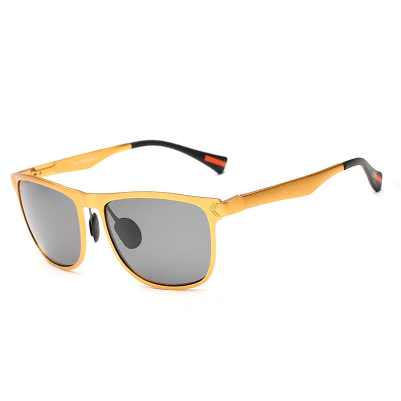 9aa8c53094 ... alta calidad. Gafas de sol/Espejo de caja amplia en marco aluminio  magnesio/Gafas de sol