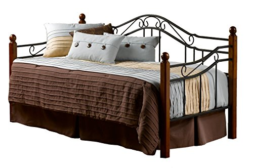 Hillsdale Furniture 1010DBLH Hillsdale Madison Daybed, Twin, Black/Cherry