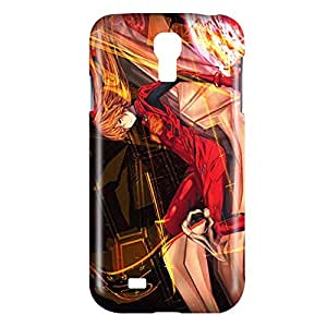 Evangelion Asuka Langley Soryu Snap on Plastic Case Cover Compatible with Samsung Galaxy S4 GS4