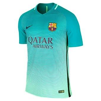 73055cd00 Nike FC Barcelona M Nk Vapor Match Third JSY SS 3R Camiseta, Hombre, Verde