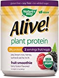 Nature's Way Alive! Plant Protein Organic Smoothie Berry Fusion