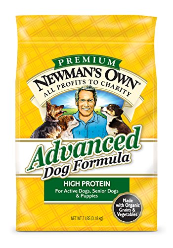 NewmanS Own Advanced Dog Formula For Active Or Senior Dogs, 7-Pound Bag