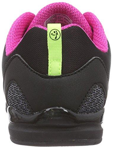 Zumba Kvinders Flex Ii Atletisk Dans Workout Sko Med Fleksibel Pasform Og Arch Sort / Sort P7GEqv