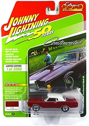 Johnny Lightning JLCG018 Classic Gold VER B Barris Fireball 500 White Gold Red