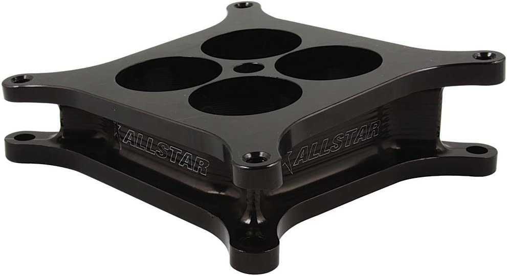 Allstar Performance ALL25975 4-Hole Angled Carb Spacer with Square Bore