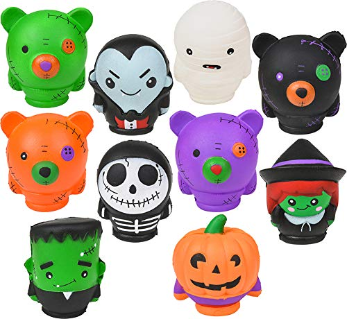 Halloween Monster Squishie Toy Bundle Party Favor 12 Pack -