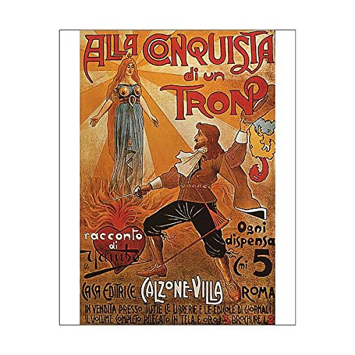 Media Storehouse 10x8 Print of in Conquest of a Throne - A Novel by Yambo (15286977) from Media Storehouse