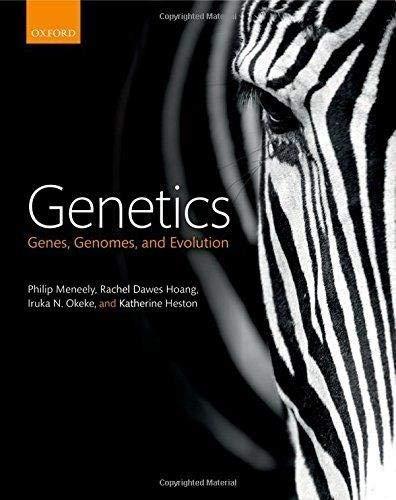 Genetics: Genes, genomes, and evolution