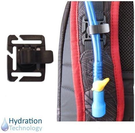 UK/_ 2Pcs Water Bladder Tube Trap Hose Clip for Webbing Hydration Backpack Stylis