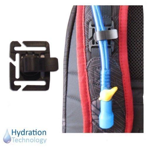 3pcs Hydration Water Bladder Tube Trap Hose Clips Strap For Travel Backpack UK
