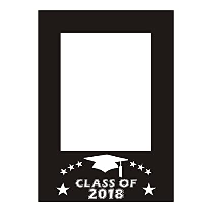 Amazoncom Bestoyard Class Of 2018 Diy Picture Frame Cutouts Photo