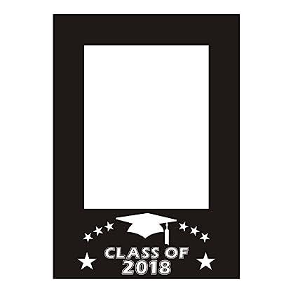 Amazoncom Bestoyard Class Of 2018 Diy Picture Frame Cutouts Photo