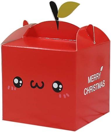 Spicy Meow 10 Cajas Creativas Decorativas, Cara Sonriente roja: Amazon.es: Hogar