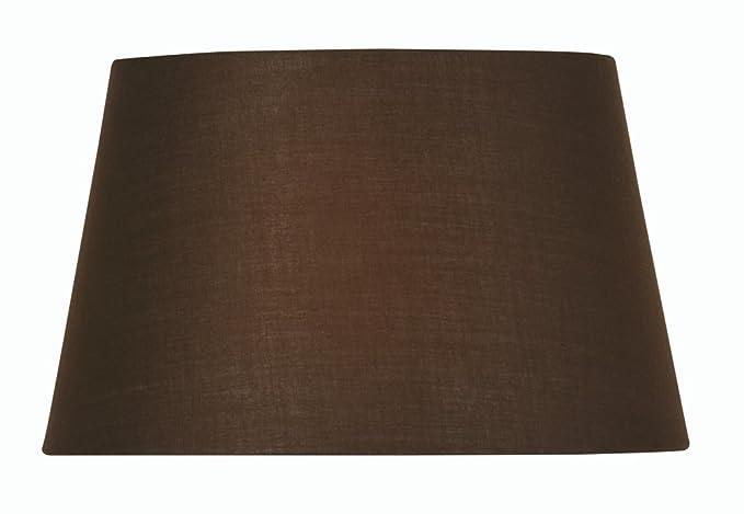 Pantalla cil/índrica para l/ámpara Oaks Lighting color Beige algod/ón
