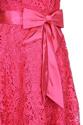 Träger Partykleid Gr Vokuhila mit Stola orange Kleid lachs Elegantes 2603 und 46 34 0vZHEwqq