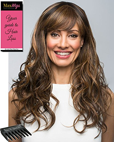 Hair Sepia Synthetic Wig (Seduction Wig Color SUNKISS Revlon 15