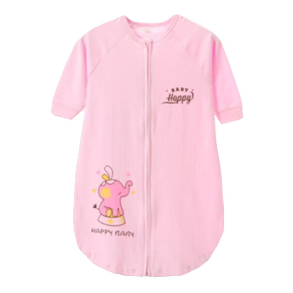 Lovely Summer Spring Baby Cute Sleeping Bag Cotton Wearable Blanket kids gift, 0-4 Yrs,pink