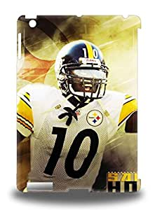 Ipad Air Well Designed Hard 3D PC Case Cover NFL Pittsburgh Steelers Santonio Holmes #10 Protector ( Custom Picture iPhone 6, iPhone 6 PLUS, iPhone 5, iPhone 5S, iPhone 5C, iPhone 4, iPhone 4S,Galaxy S6,Galaxy S5,Galaxy S4,Galaxy S3,Note 3,iPad Mini-Mini 2,iPad Air )