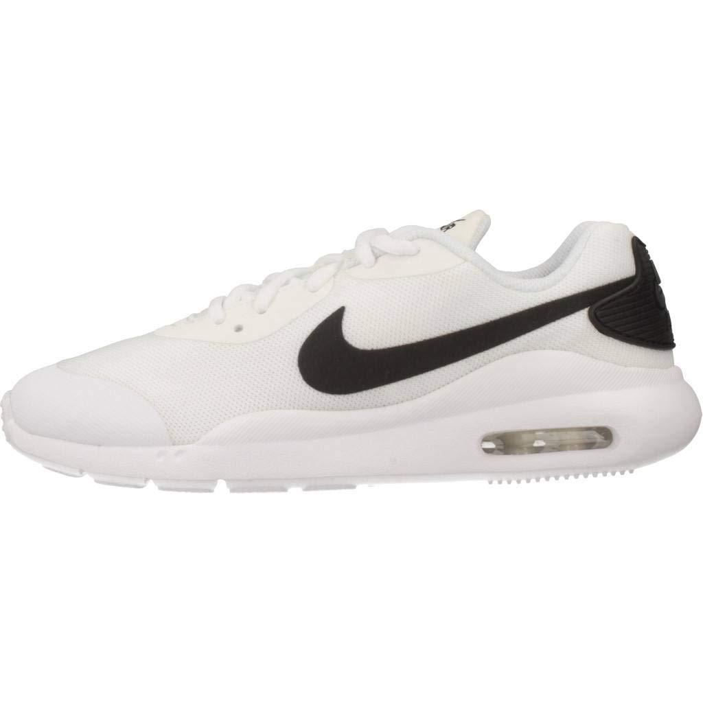 low priced aa85f 7b382 Amazon.com   Nike Air Max Oketo (gs) Kids Big Kids Ar7419-100 White Black    Sneakers