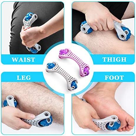 Amazon.com: Masajeador de rodillos musculares, bola de ...