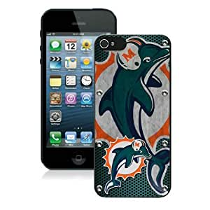 Iphone 5 Case Iphone 5s Cases NFL Miami Dolphins 6 Free Shipping