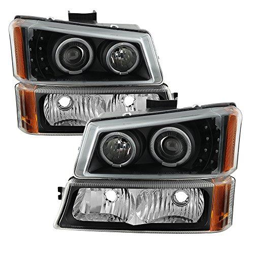 SPYDER 9036774 Projector Headlights (Ccfl Halo Euro Headlights)
