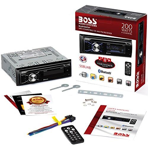 Boss Audio 612ua Multimedia Car Stereo: BOSS Audio 508UAB Multimedia Car Stereo