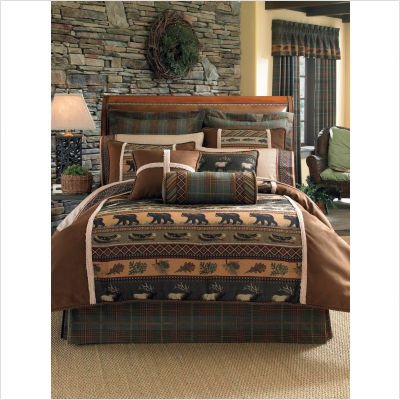 Croscill Caribou Comforter Set, Queen, Multicolor