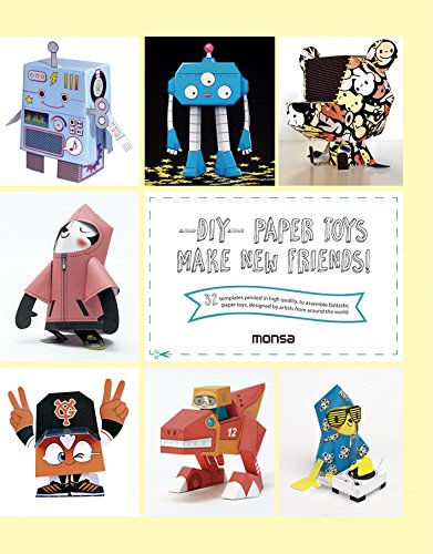 Descargar Libro -diy- Paper Toys. Make New Friends! Monsa