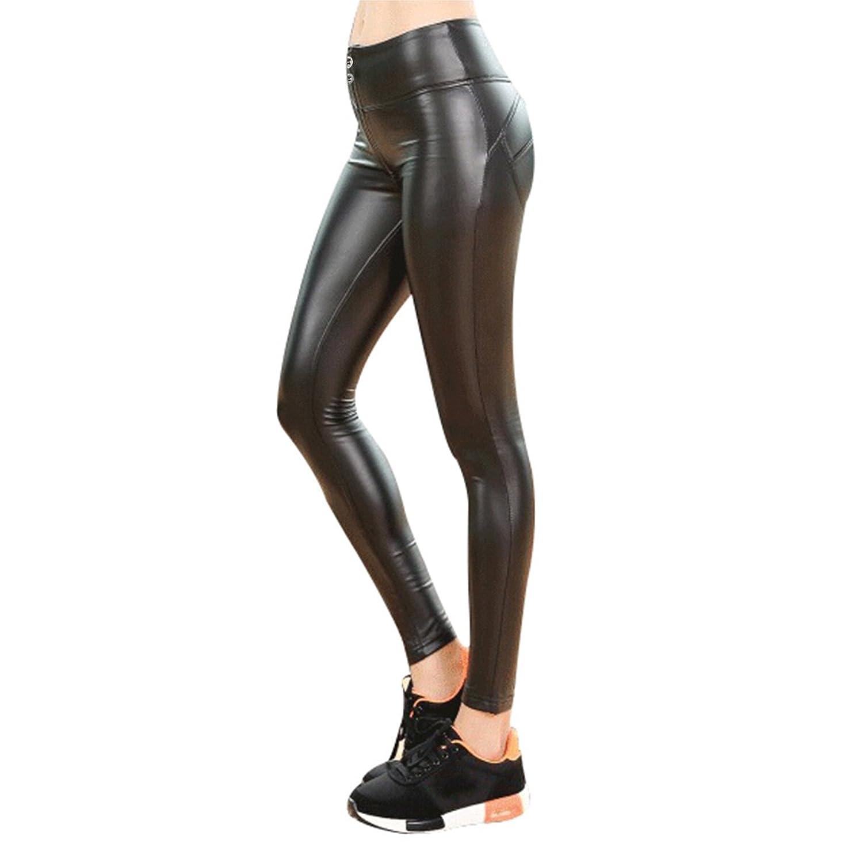 oodji Collection Femme Legging avec Large Ceinture-/Élastique
