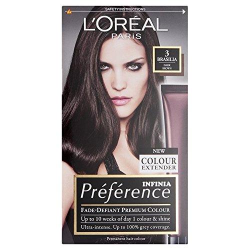 L'Oréal Paris Preference Brasilia 3 Dark-Brown