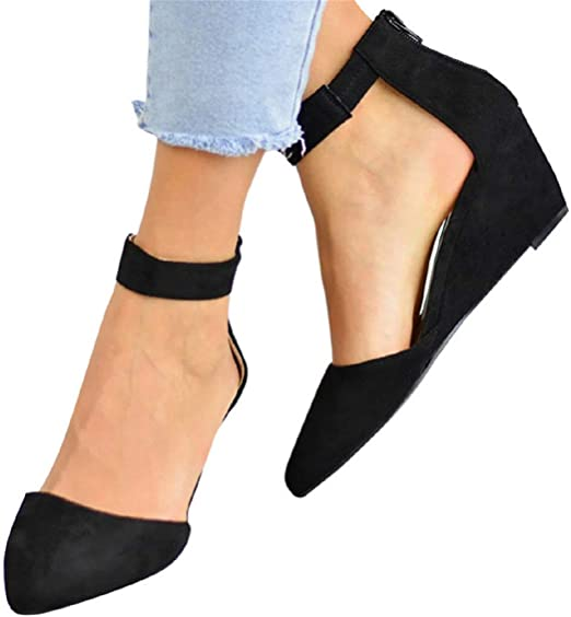 Ankle Strap Sandals Shoes Women Office