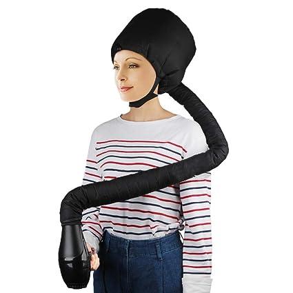 Comtervi - Accesorio para secador de pelo, gorro de secado de pelo, capucha suave