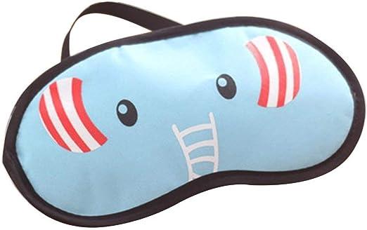XIAOL Home Máscaras de Ojo de algodón de poliéster Suave Máscara de Dormir de Tema Animal Encantador Cómodo Peso Ligero: Amazon.es: Hogar